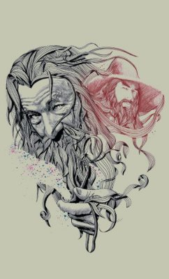 Camiseta The Lord of the Rings The Hobbit