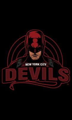 Camiseta Ner York City Devils