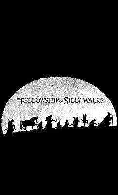 Camiseta The Fellowship of Silly Walks