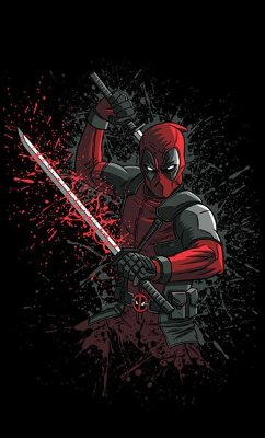 Camiseta Deadpool Ninja