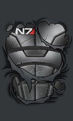 Camiseta Mass Effect Commander
