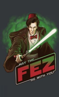 Camiseta May the Fez Be with you