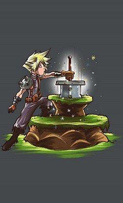 Camiseta  Final Fantasy  Cloud Strife