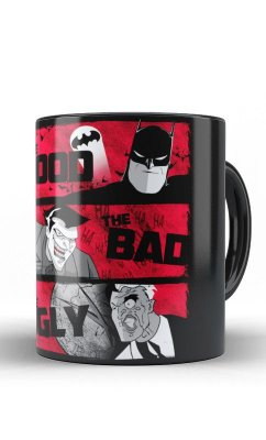 Caneca Batman - The Good, The Bad, The Ugly