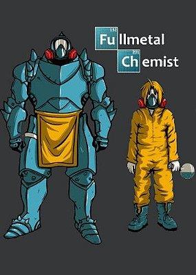 Camiseta Heisenberg Fullmental Chemist
