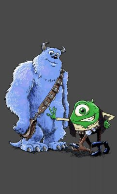 Camiseta Star Wars Monsters S.A
