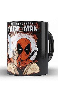 Caneca Deadpool Taco-Man
