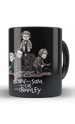 Caneca Sobrenatural Dean And Sam