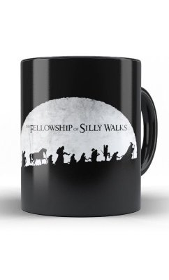 Caneca The Fellowship of Silly Walks
