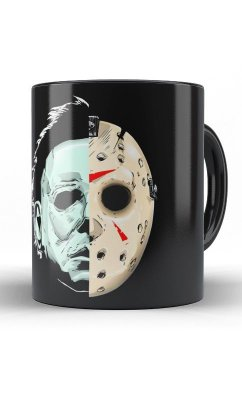 Caneca Jason e o Assassino Da Serra