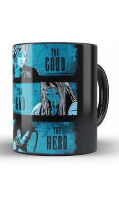 Caneca The Good, The Bad, The Hero