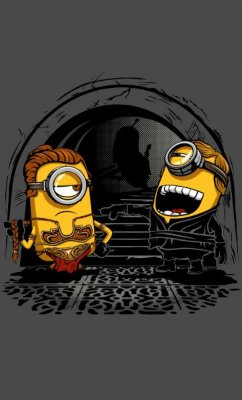 Camiseta Minions Luke Skywalker