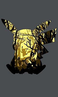 Camiseta Pokémon Pikachu Eletric Florest