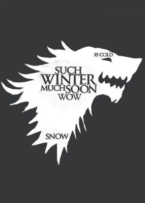 Camiseta Game of Thrones Wolf