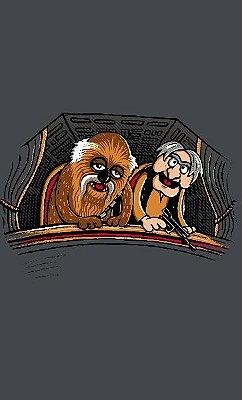 Camiseta Star Wars Chewbacca Han Solo Old