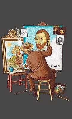 Camiseta Van Gogh Norman Rockwell