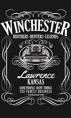 Camiseta Sobrenatural - Winchester