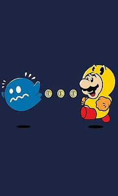 Camiseta Super Mario Power Pellet Power