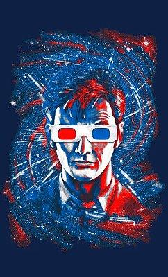 Camiseta Doctor Who Oculos 3D