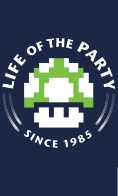 Camiseta  Mario Life of the Party