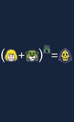 Camiseta  He-Man Skeletor