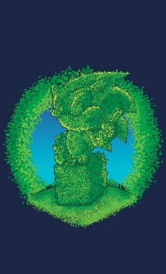 Camiseta Sonic the Hedgehog  Shrubbery