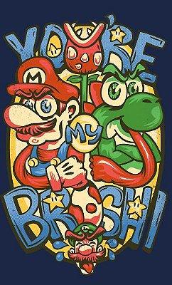 Camiseta Super Mario You're My Broshi