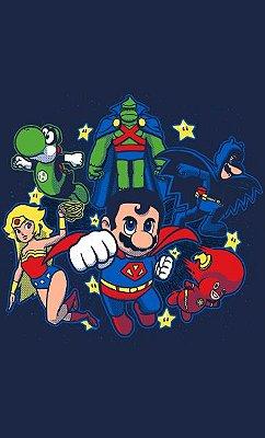Camiseta Mario Mushroom League
