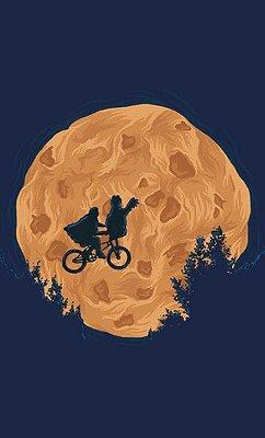 Camiseta E.T Cookie