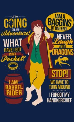 Camiseta O Hobbit