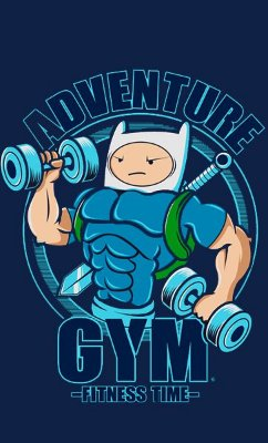 Camiseta Adventure Fitness Time
