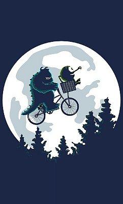 Camiseta  E.T Monsters Friends