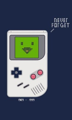 Camiseta  Game Boy Never Forget