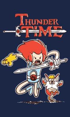 Camiseta  Adventure Time - Thunder Time