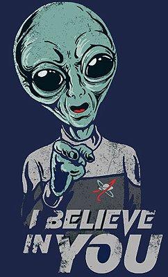 Camiseta Alien - I Believe In You
