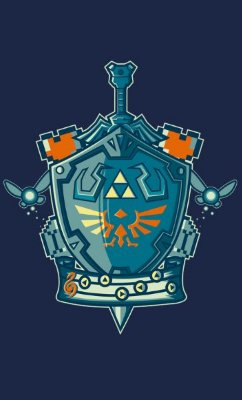 Camiseta The Legend of Zelda  Master Sword NT