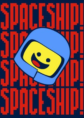 Camiseta  LEGO Space Ship!