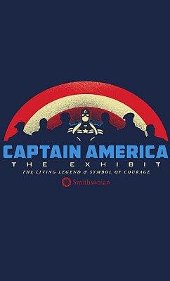 Camiseta  Captain America The Exhibit