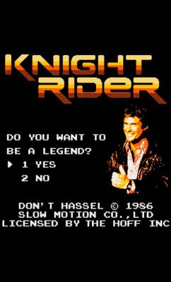 Camiseta The Holff - Knight Rider