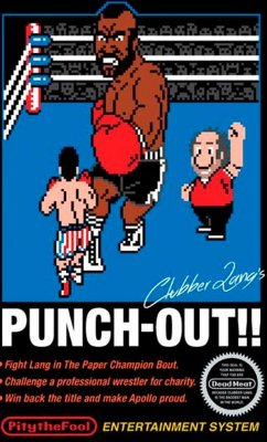 Camiseta  Punch-Out