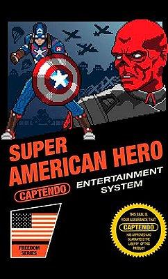 Camiseta Capitão America Hero
