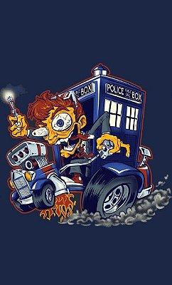 Camiseta  Doctor Who  Rat Fink