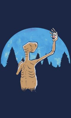 Camiseta  E.T Cellphone