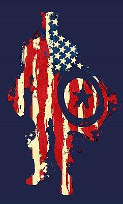 Camiseta  American flag