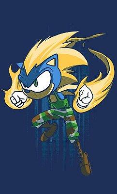 Camiseta Sonic the Hedgehog Nintendo