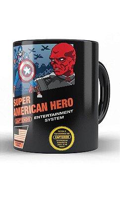 Caneca Capitão America Hero