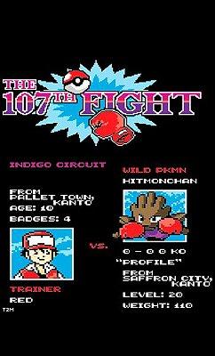 Camiseta Pokemon - The Fight