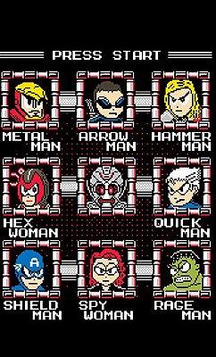 Camiseta Os Vingadores