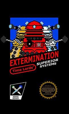 Camiseta Doctor Who - Extemination