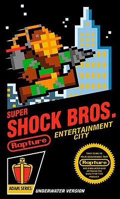 Camiseta Super Shock Bros 2